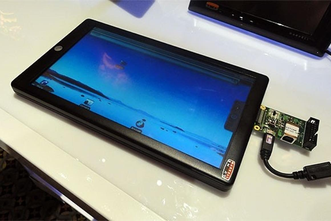 The first of the collaborative tablets is likely to be based on Marvell's Moby reference design