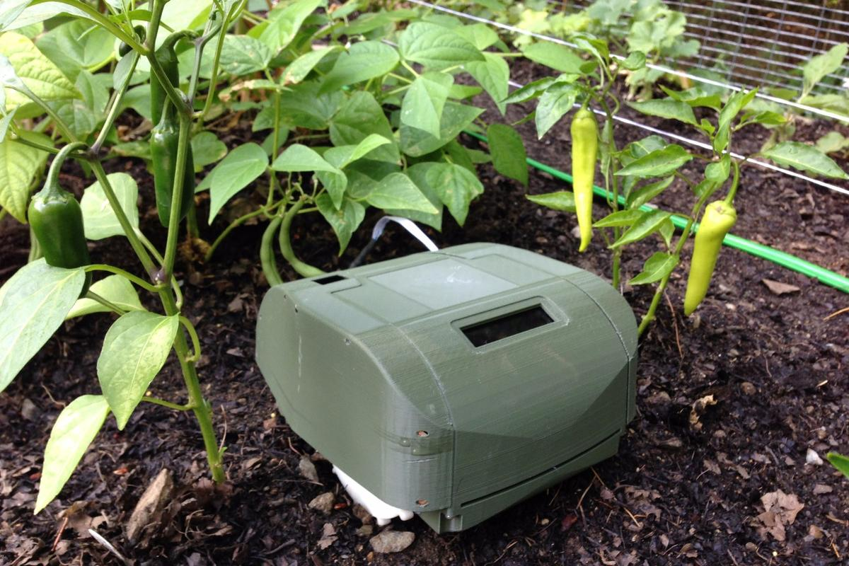 Tertill whacks weeds, so you don't have to pick them