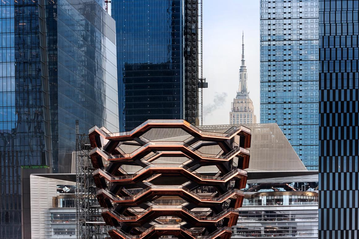 The Heatherwick Studio-designed Vessel has a reported price tag of US$150 million