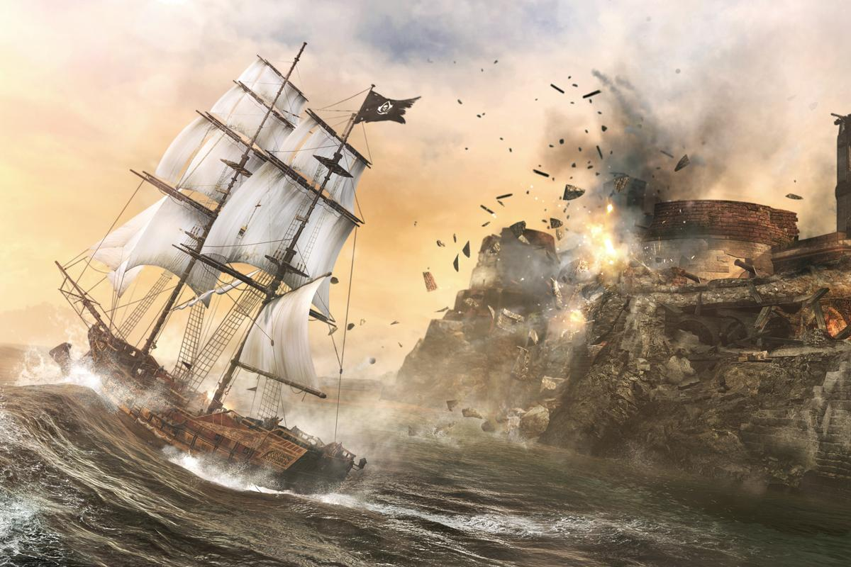 Assassin's Creed 4 promises an expanded, open-world take on naval missions
