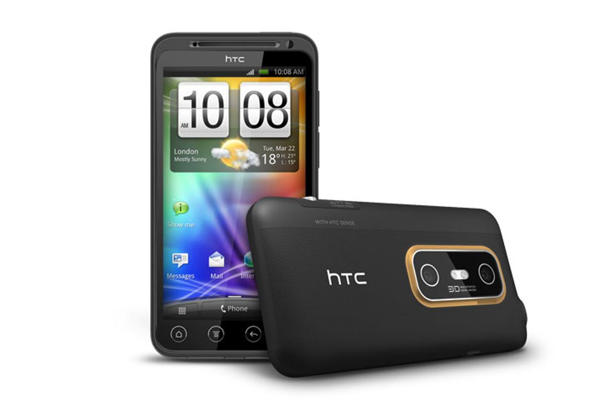 HTC has announced that its first glasses-free 3D smartphone, the EVO 3D, will be available in Europe in July