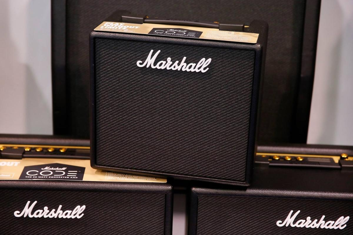"""The Code series amps feature """"authentic modeling"""" and wireless control via a Bluetooth-connected mobile app"""