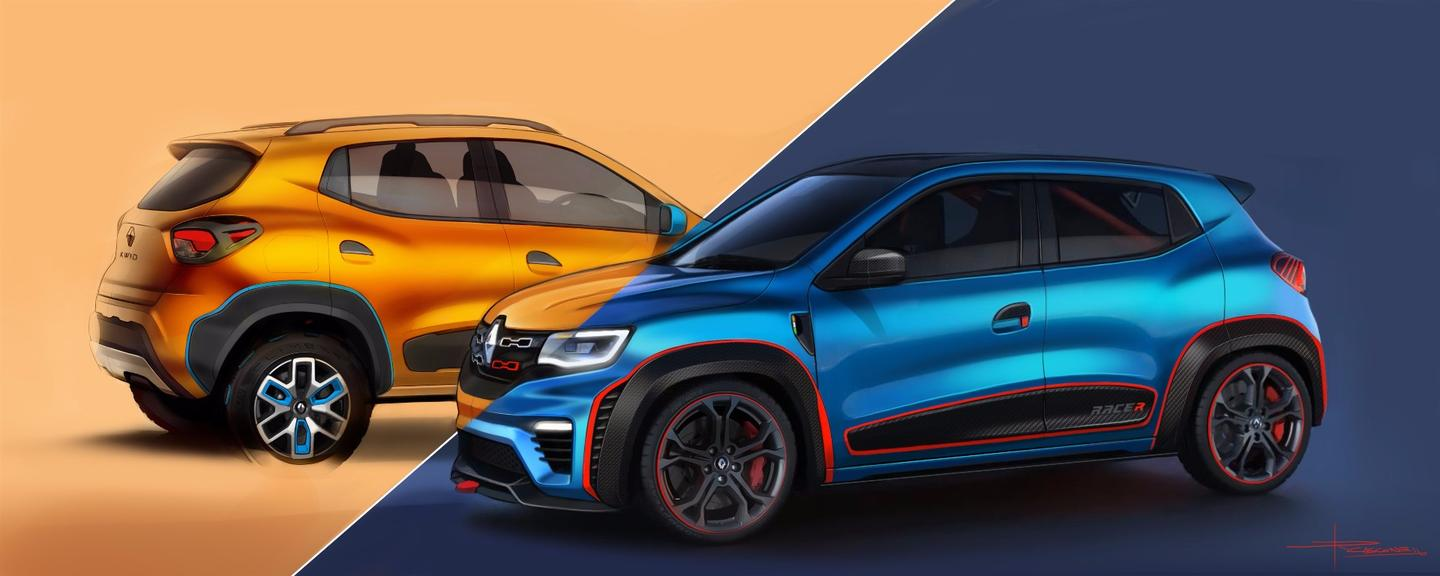 The new KWID Climber and KWID Racer from Renault