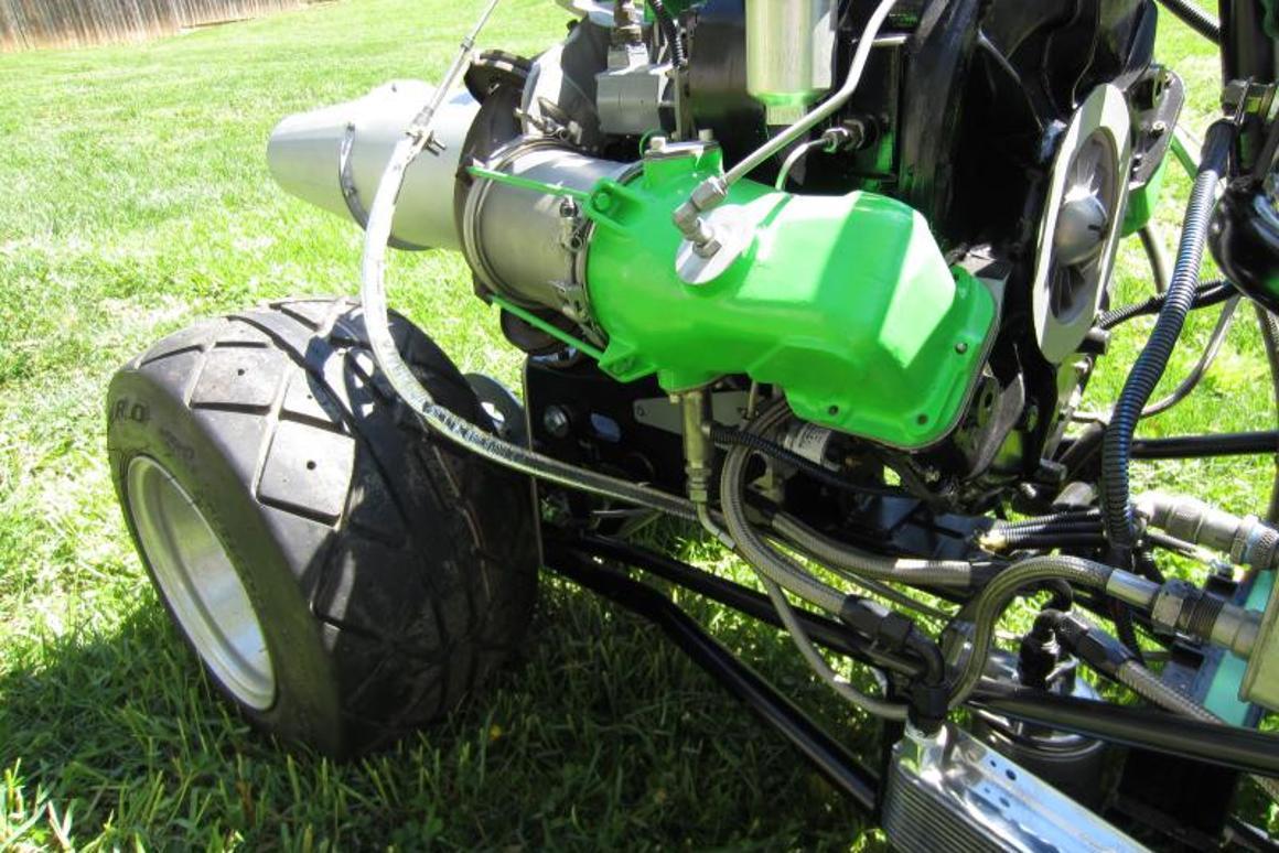 Jet-powered junior dragster for sale on eBay