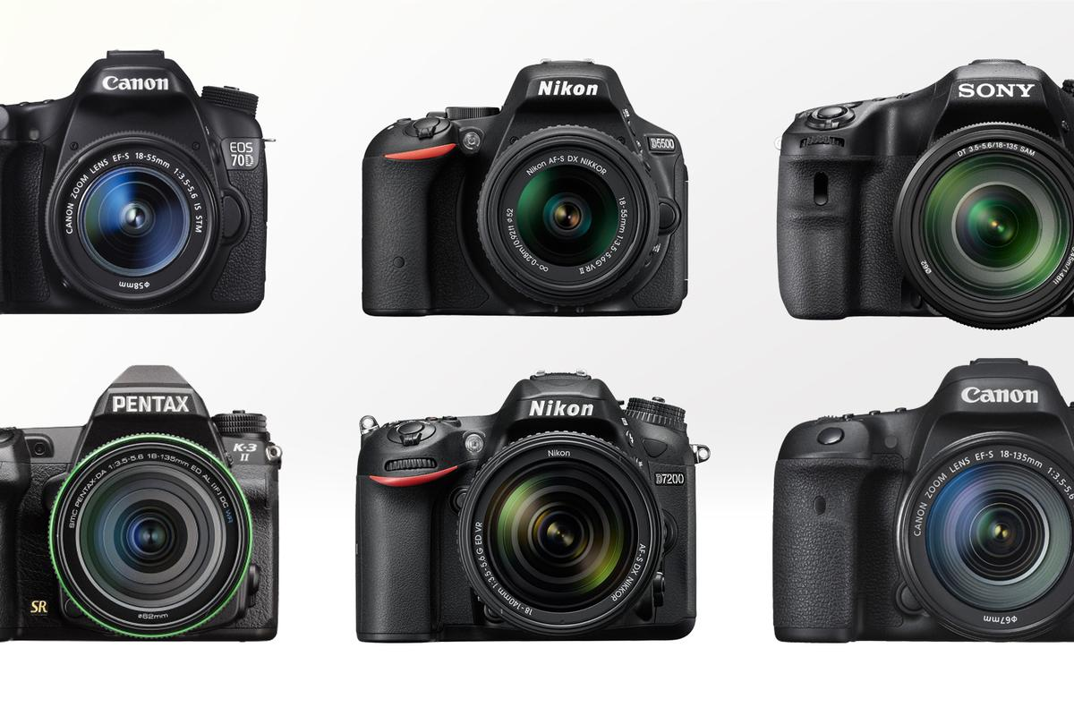 Gizmag compares some of the best mid-range and enthusiast-focused DSLRs on the market in 2015