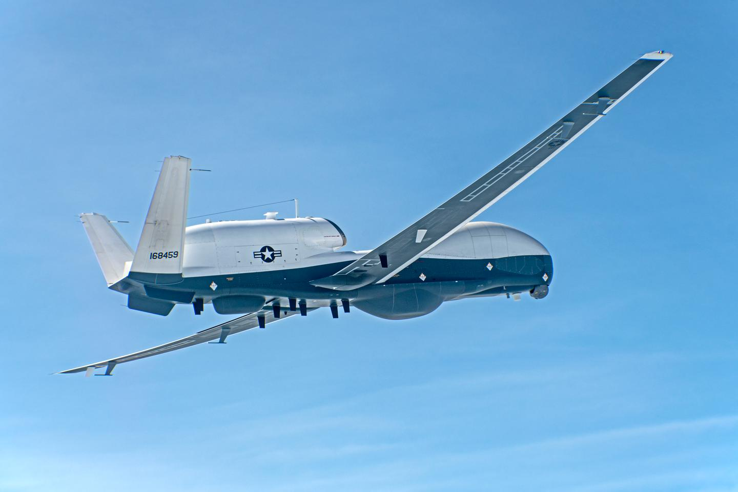 The new configuration will allow the Triton to replace the EP-3E Aries fleet
