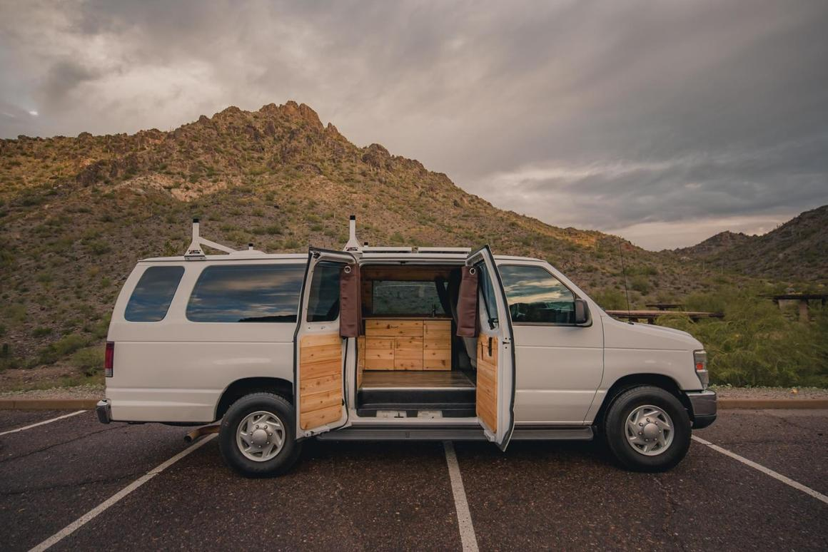 $35,000 Boho woody camper vans get you on the road for less