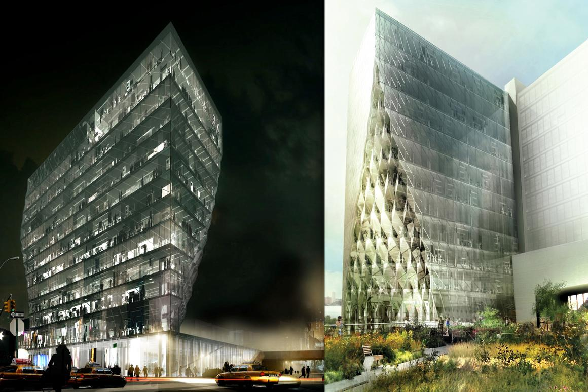 Studio Gang's Solar Carve Tower (Image courtesy of Studio Gang Architects)