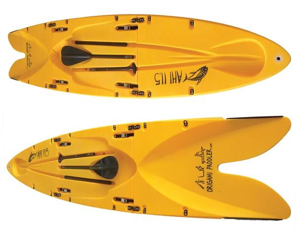 The paddle and board carry in one neat package