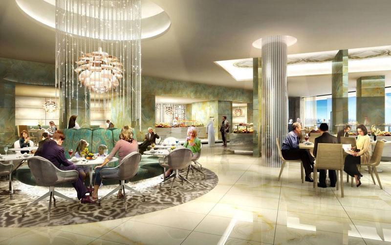 Jumeirah at Etihad Towers Hotel interior