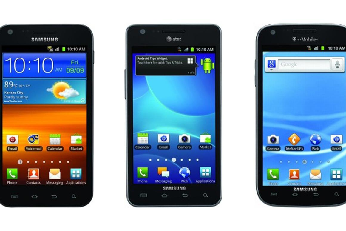 The Samsung Galaxy S II models coming to Sprint, AT&T and T-Mobile