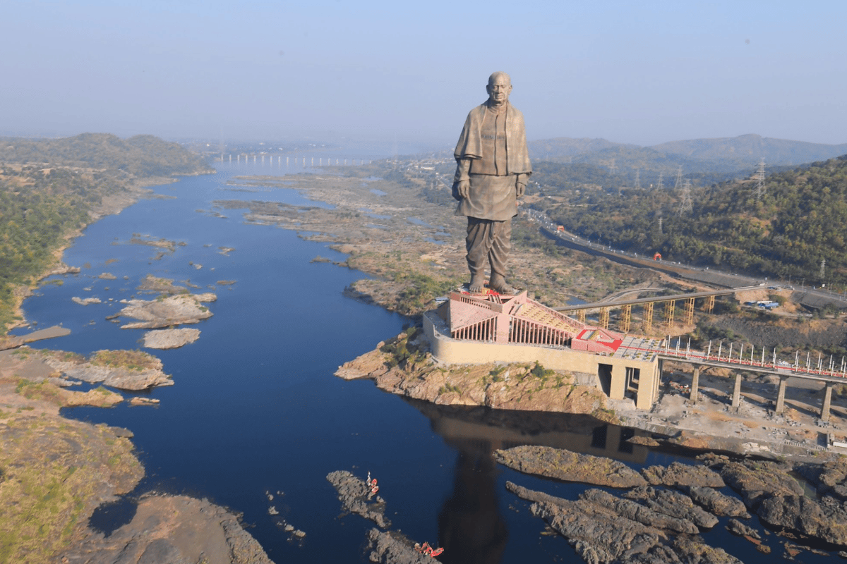 The Statue of Unity, the tallest statue in the world, has officially opened to the public