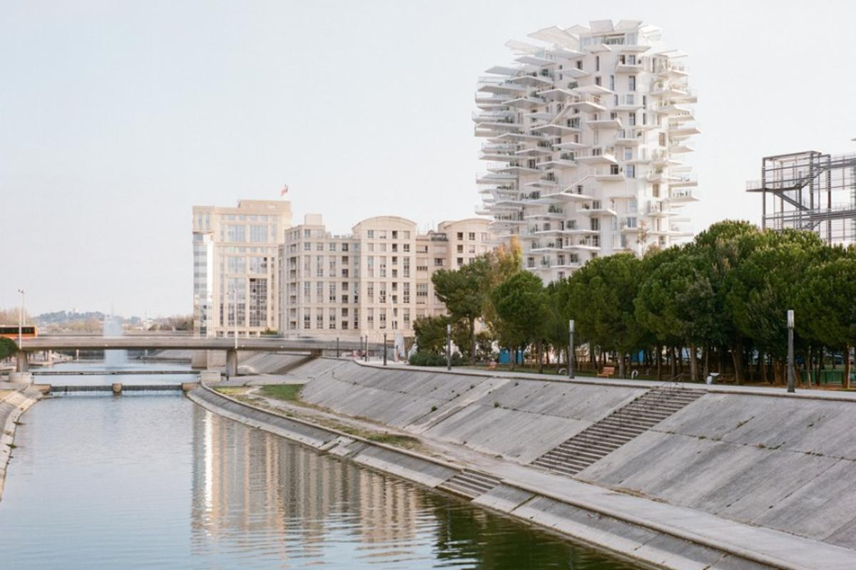 Construction of L'Arbre Blanc was completed in May
