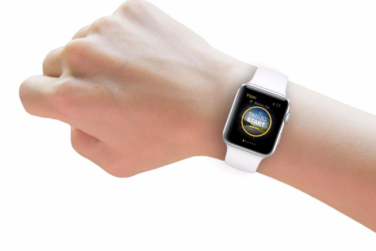 Viper SmartStart 4.0 is compatible with Apple Watch and Android Wear smartwatches
