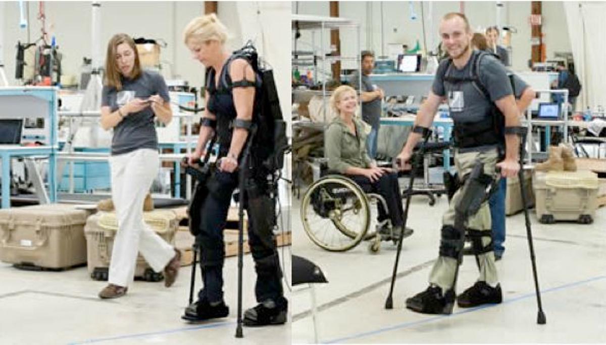 Berkeley Bionics' eLEGS exoskeleton
