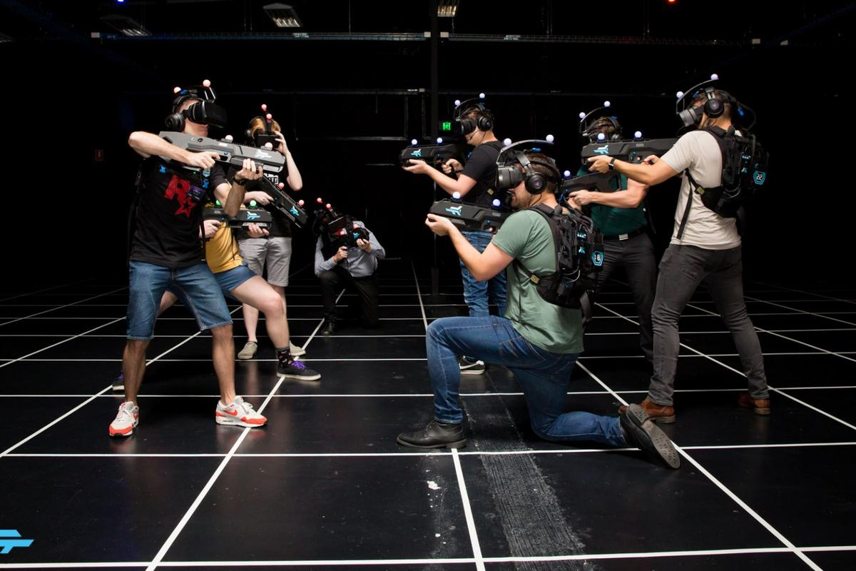 Zero Latency has added a new competitive, player-vs-player game toits warehouse-scale VR technology