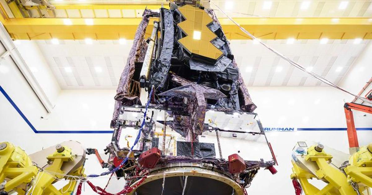 James Webb Space Telescope completes prelaunch environmental tests