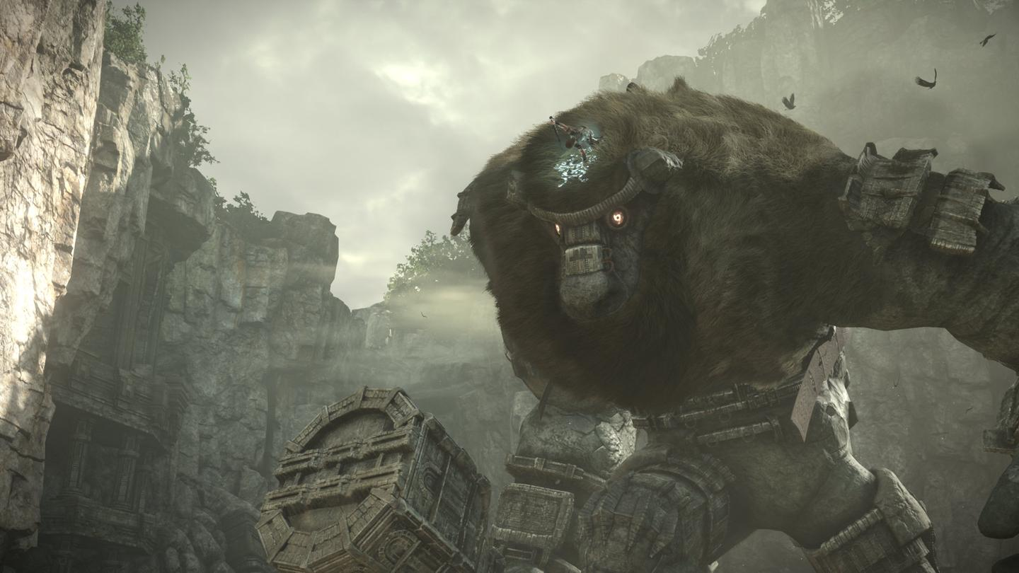 Shadow of the Colossus is a PS2 classic remade for the PS4