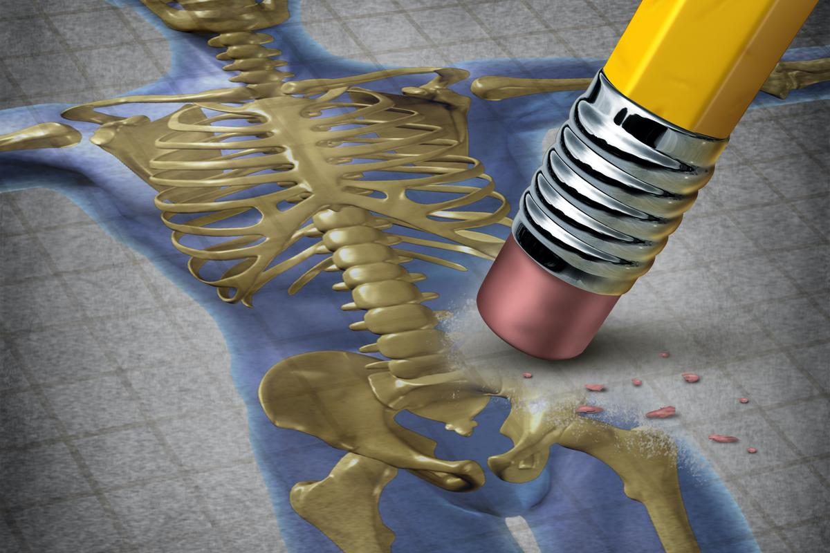 For the study, bone mass was measured in participants' lumbar spine and left hip