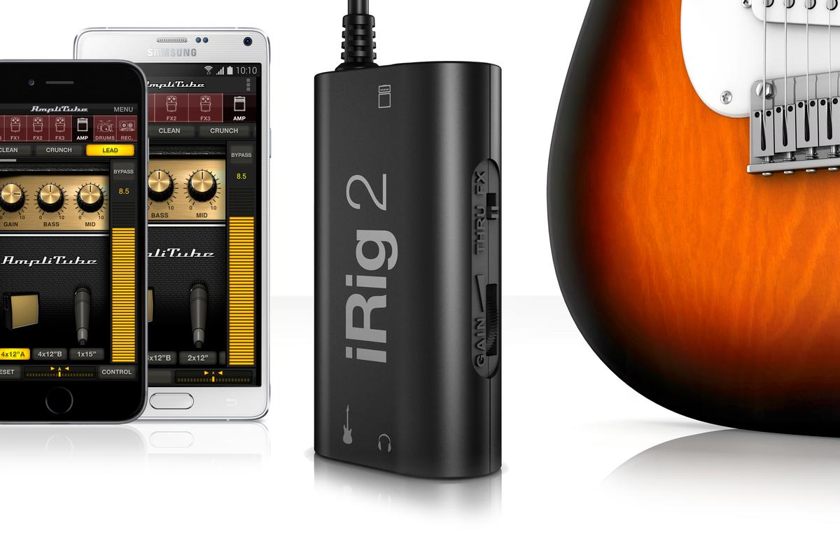 IK Multimedia's new iRig 2 guitar interface
