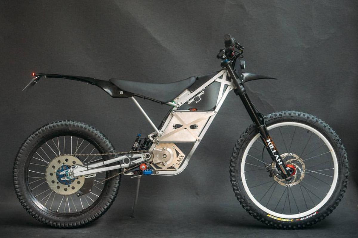 The LMX 161-H looks like a hybrid of motorcycle and mountain bike