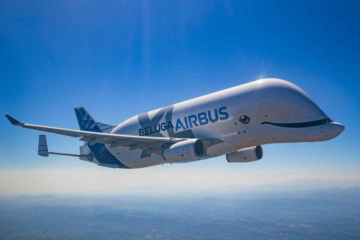 The BelugaXL cargo plane made its first operational flight on January 9