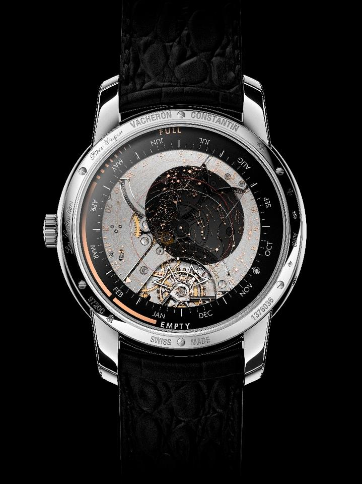 Les Cabinotiers Celestia Astronomical Grand Complication 3600 reverse