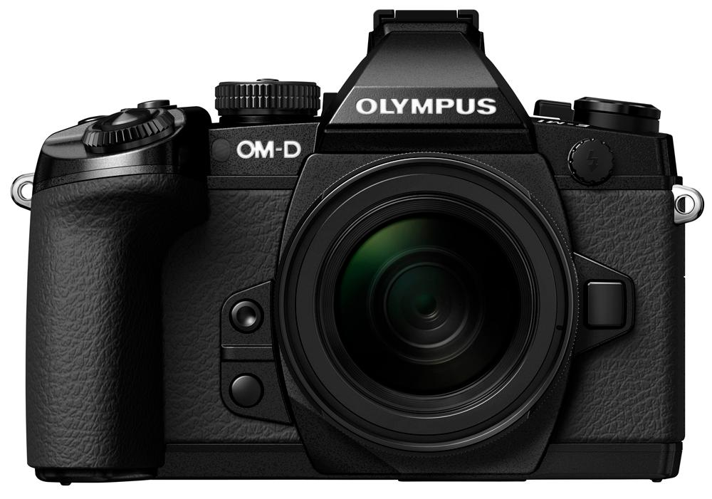 The new Olympus OM-D E-M1 features a 4/3 inch 16 megapixel Live MOS sensor paired with a new TruePic VII image processor