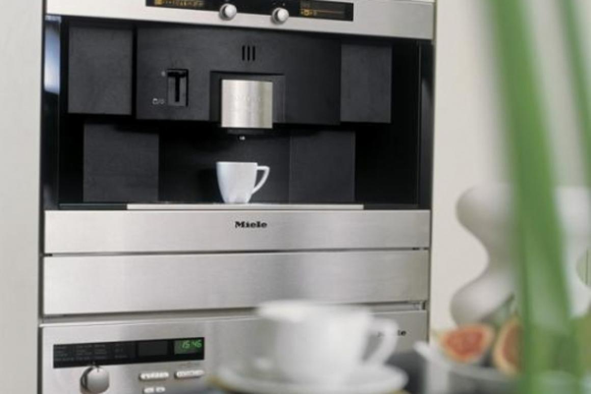 Miele creates a built-in Nespresso machine