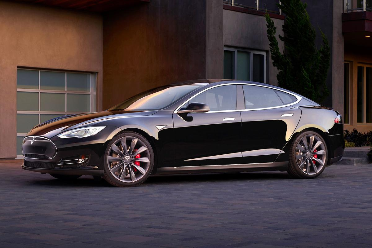 The Model S has been given a software update (Photo: Tesla)
