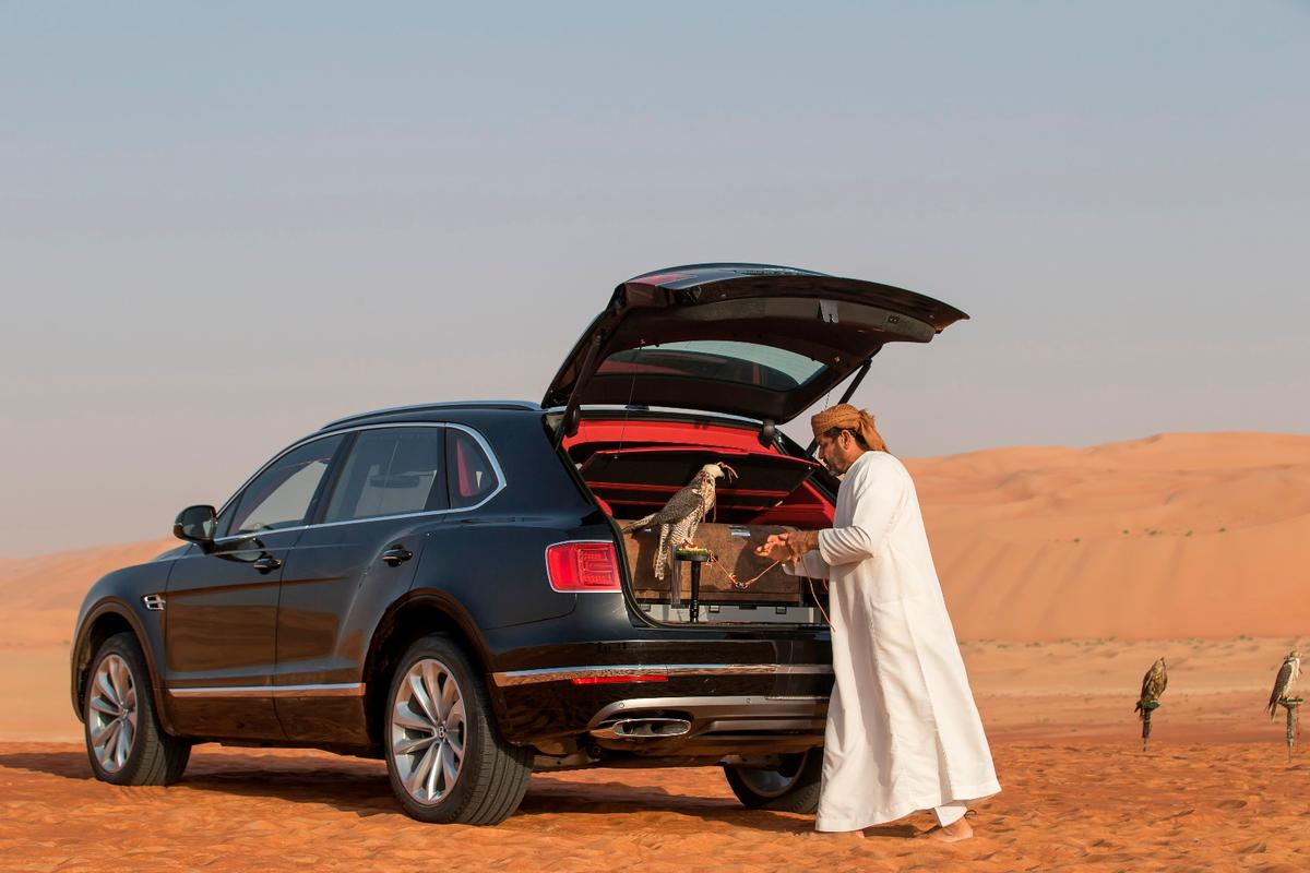 The Bentley Bentayga Falconry by Mulliner