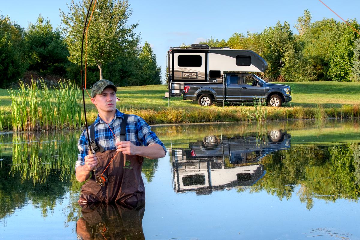 The first Ford RVs on the market are scheduled to be truck campers