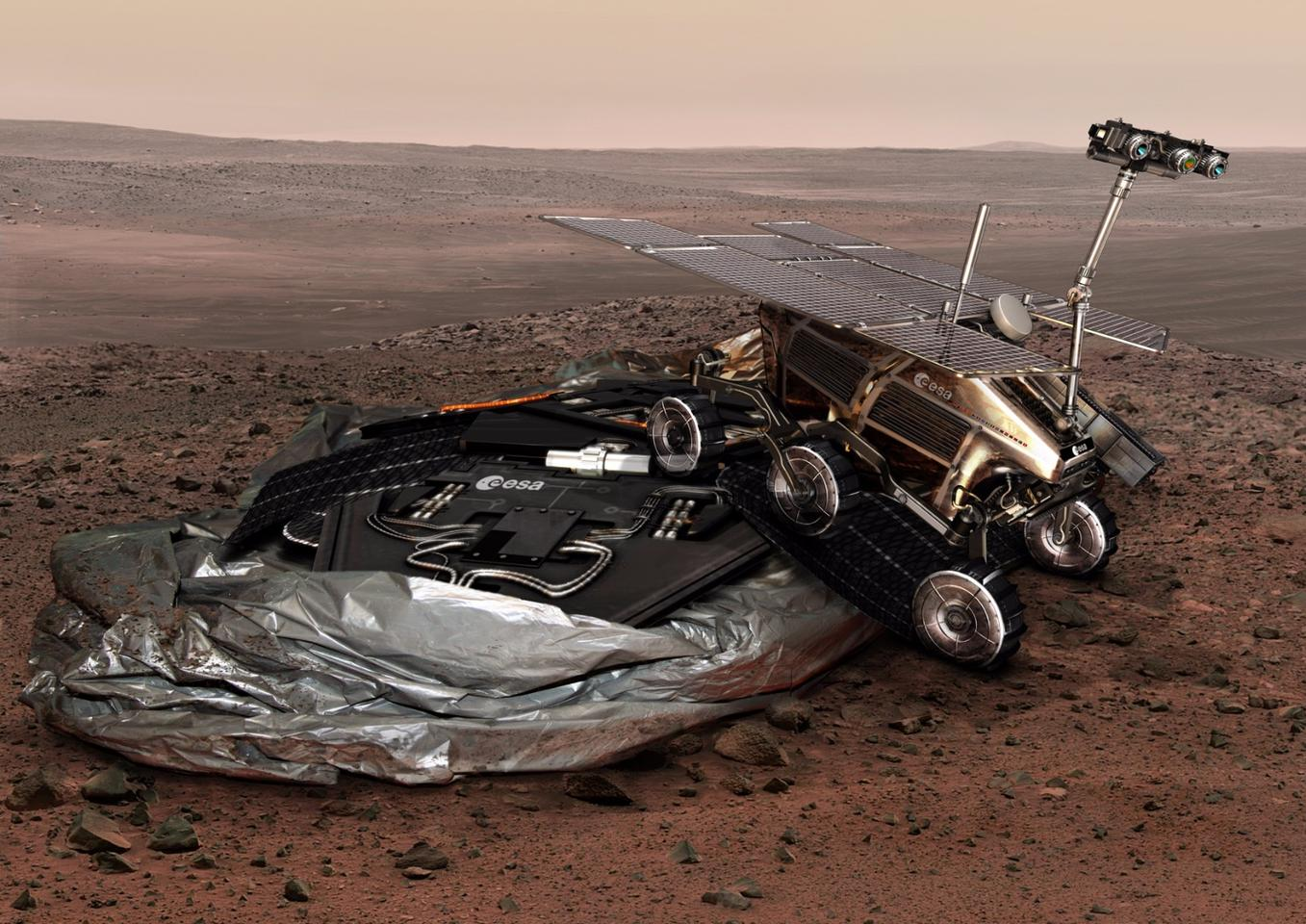 The ExoMars 2018 mission has been delayed until 2020