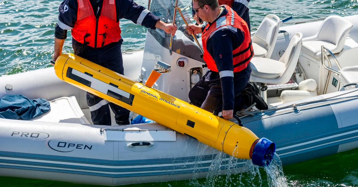 The Bluefin-9 is designed for portability