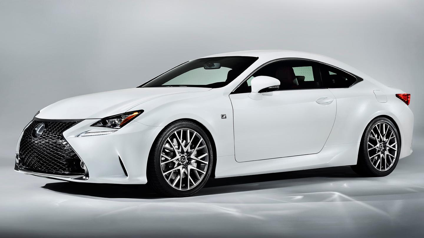 The Lexus RC F Sport Coupe