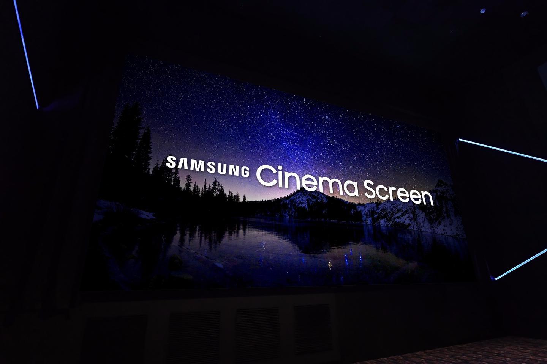 Samsung's Cinema LEDScreen boasts 4,096 x 2,160 UHD resolution, coupled with High Dynamic Range technology