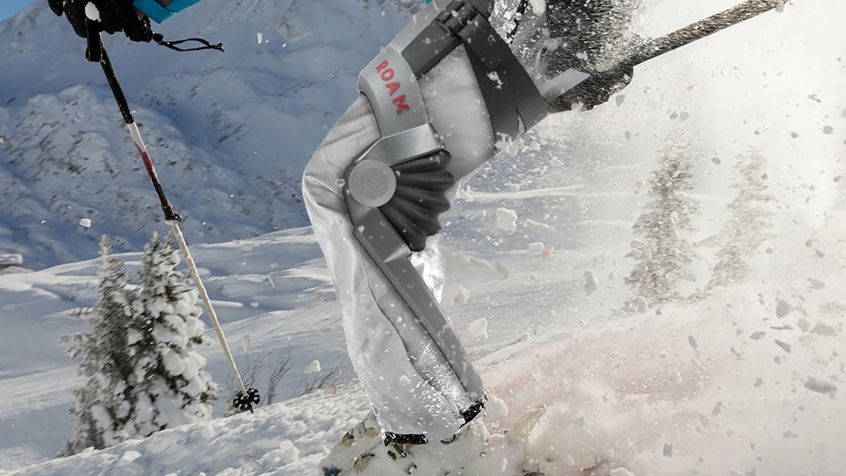 Roam Robotics is expecting to ship its ski exoskeleton in January 2019
