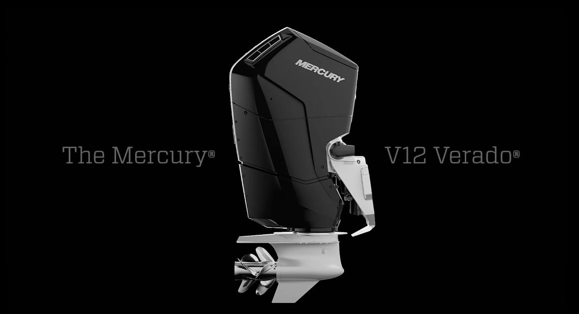 Mercury reveals its all-new flagship V12 Verado