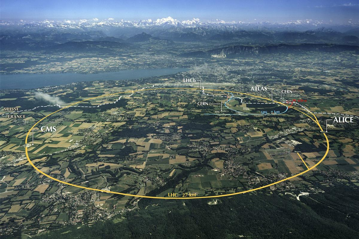 Lasers could dramatically shrink the size and cost of particle accelerators such as the LHC pictured here (Image: CERN)
