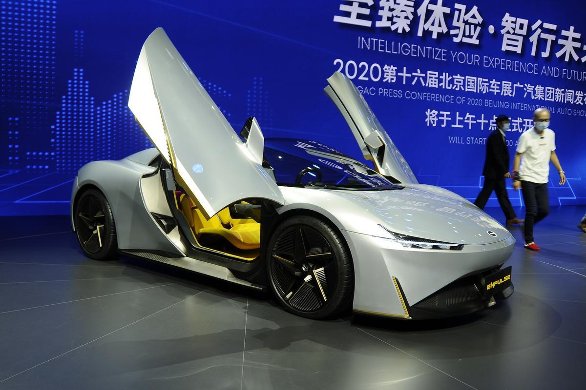 GAC Enpulse electric sports car concept
