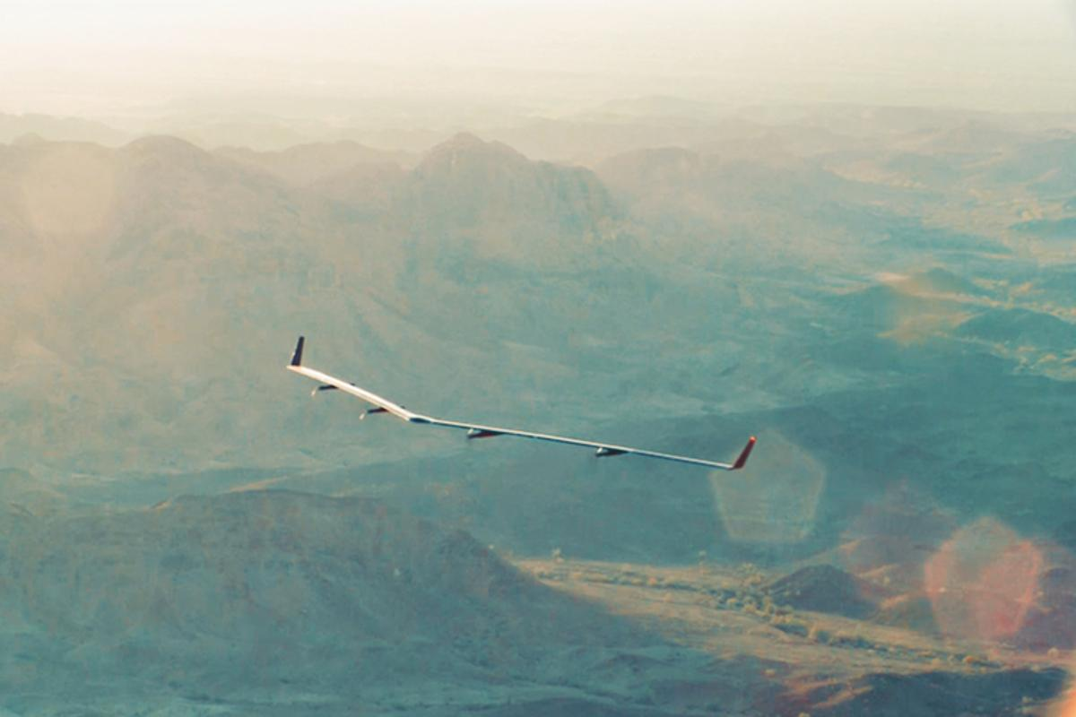 Aquila flew for a total of 96 minutes at low altitude controlled by its autopilot software