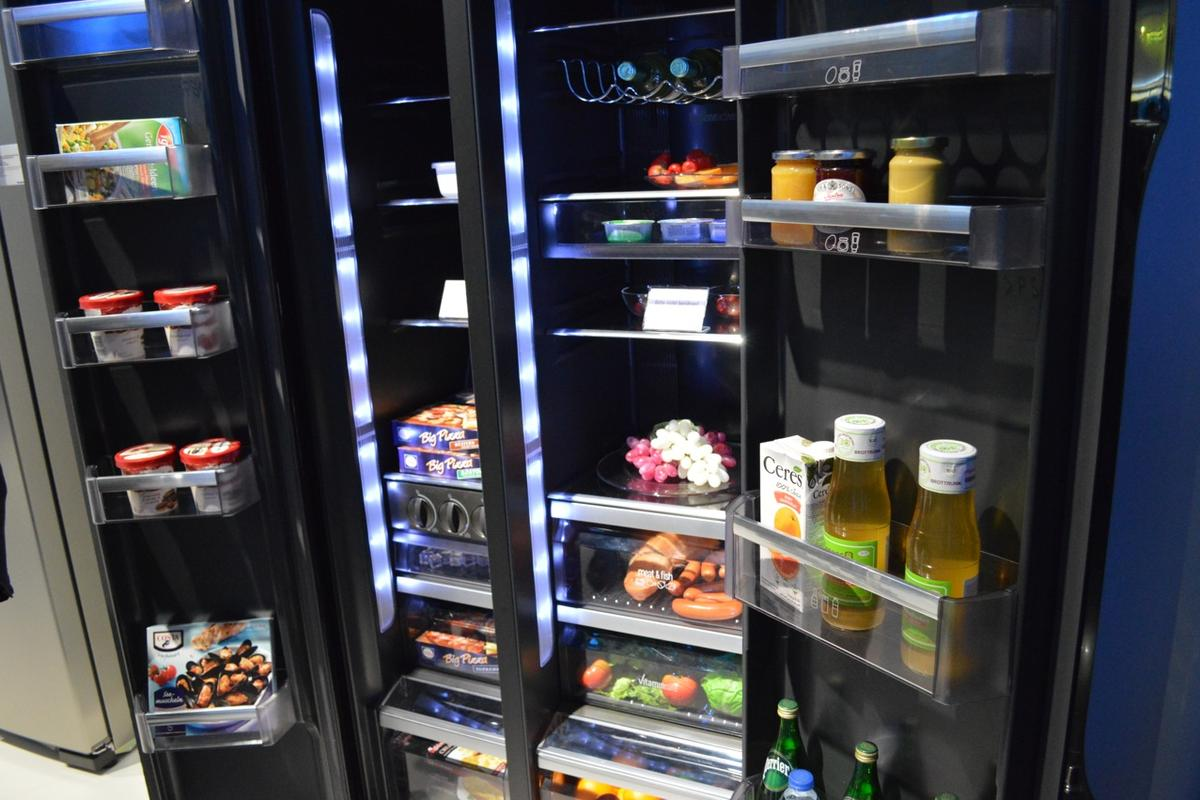 Panasonic has unveiled its new A+++ rated two-door refrigerator, the NR-B55VE1