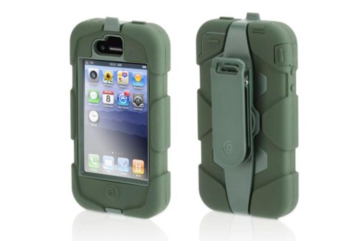 The Survivor Extreme Duty Case is designed to protect the iPhone 4 and iPod touch, and is built to meet or exceed military endurance standards