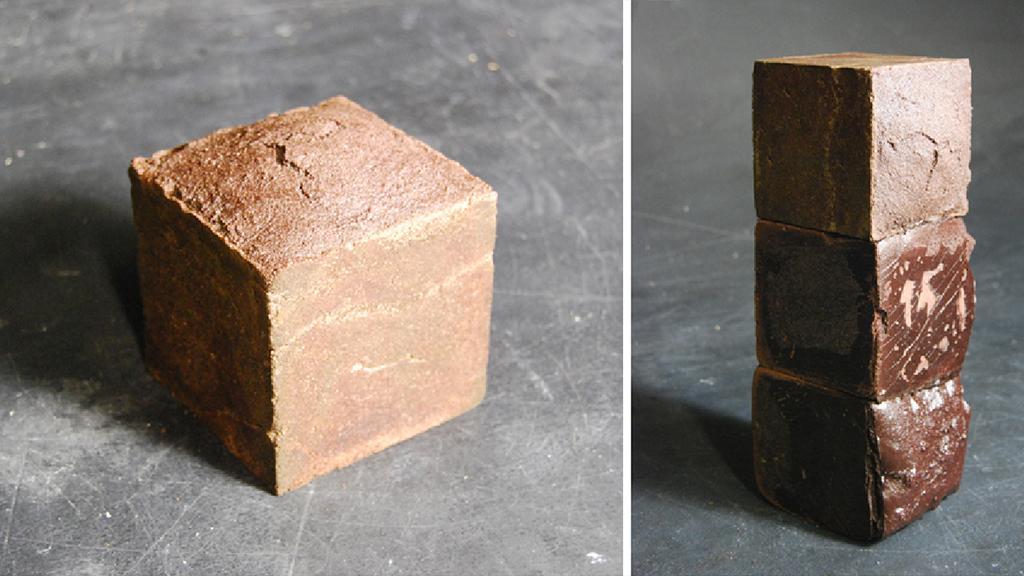 "The ""Blood Bricks"" created by British architecture school graduate Jack Munro"