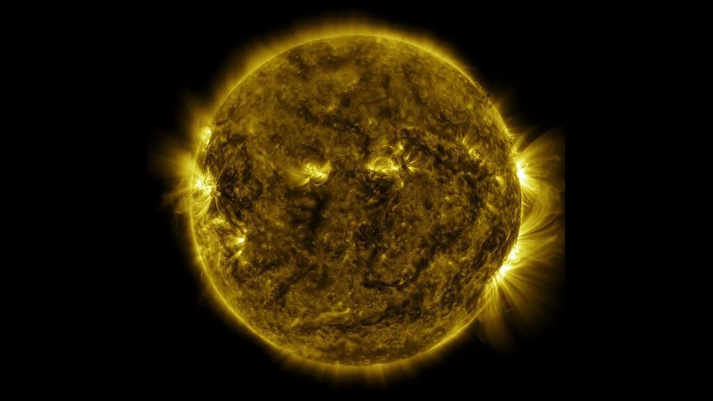 Sun as observed by NASA's Solar Dynamics Observatory