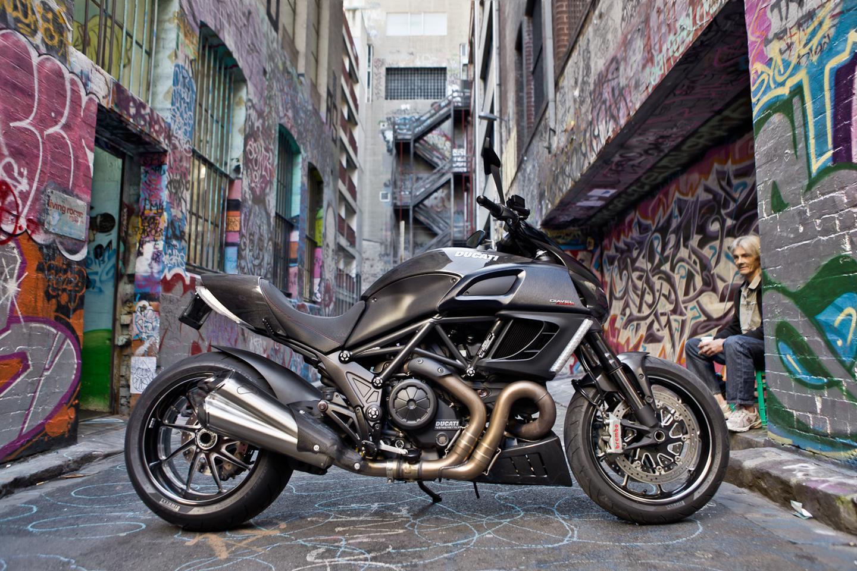 The 20120 Ducati Diavel