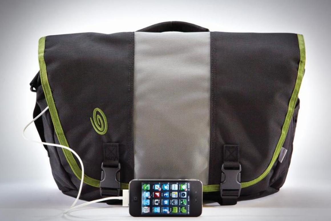 Charge your gadgets on the move from a small, integrated power supply