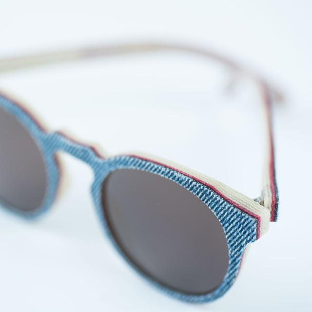 Solid Denim sunglasses are being made in three styles