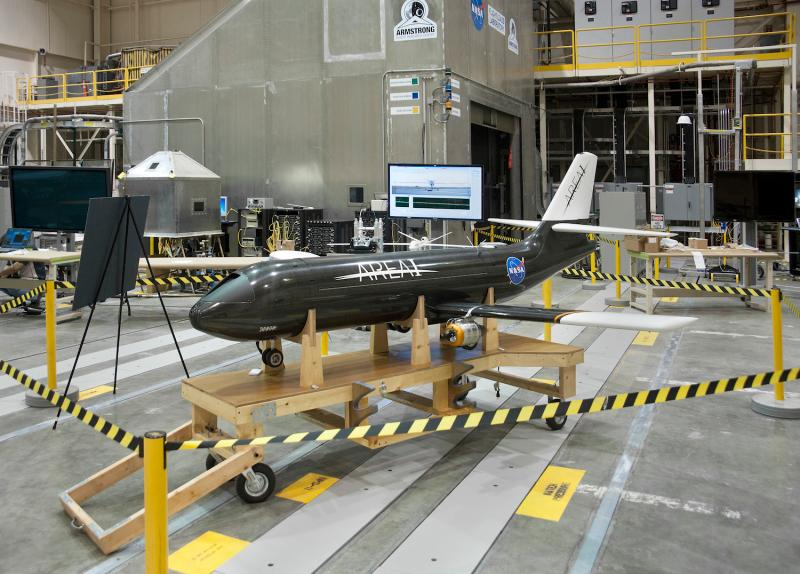 NASA plans to test these ideas on the scale model PTERA (Prototype-Technology Evaluation and Research Aircraft) in the spring of 2017