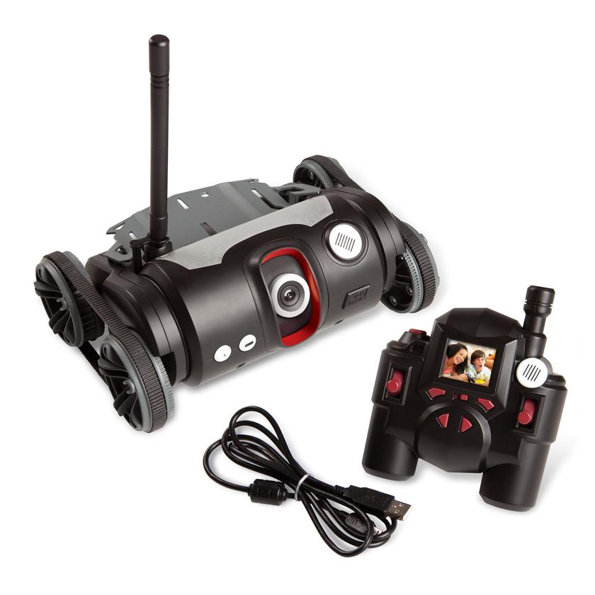 The spy video TRAKR toy is the first app-enabled, programmable remote-controlled video vehicle